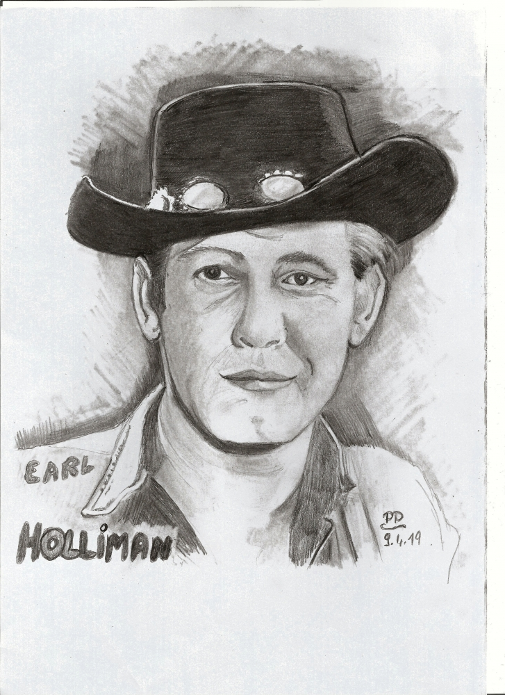 Earl Holliman by Patoux